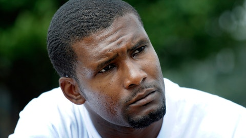 <p>               FILE- In this Aug. 20, 2010, file photo, Daniel Green, who is serving a life sentence for the July 1993 death of former NBA basketball star Michael Jordan's father James Jordan, listens to questions during an interview at the Harnett County Correctional Institute in Lillington, N.C. A North Carolina judge says he won't allow Green to proceed with an effort to prove his innocence. Court documents show that Judge Winston Gilchrist informed lawyers Wednesday, March 6, 2019, that he would deny Green's request for an evidentiary hearing that could lead to a new trial. Gilchrist told the lawyers his written order was forthcoming. (AP Photo/Sara D. Davis, File)             </p>