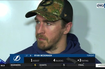 Ryan McDonagh on Bolts' winning first Presidents' Trophy in franchise history