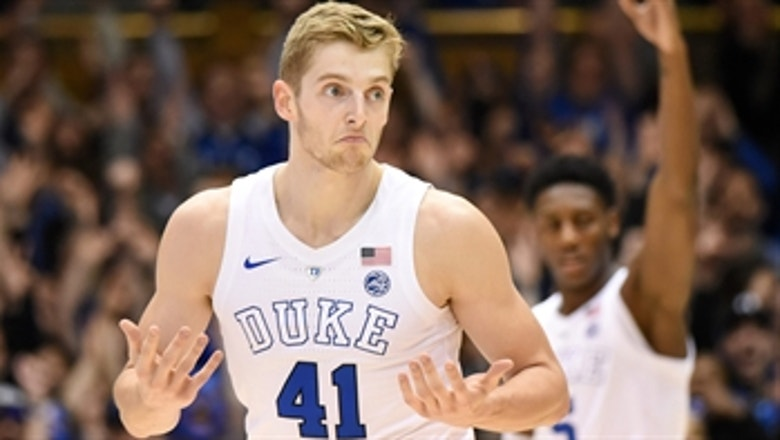 Watch the wild ending of No. 4 Duke's 71-70 win over Wake Forest