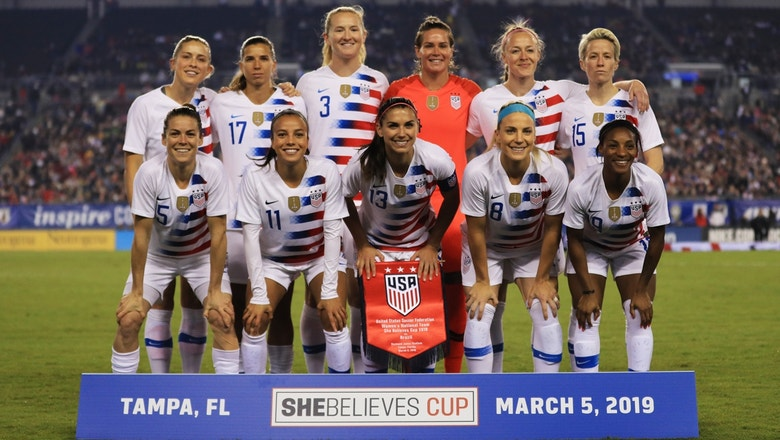 Alexi Lalas reacts to the USWNT's gender discrimination lawsuit