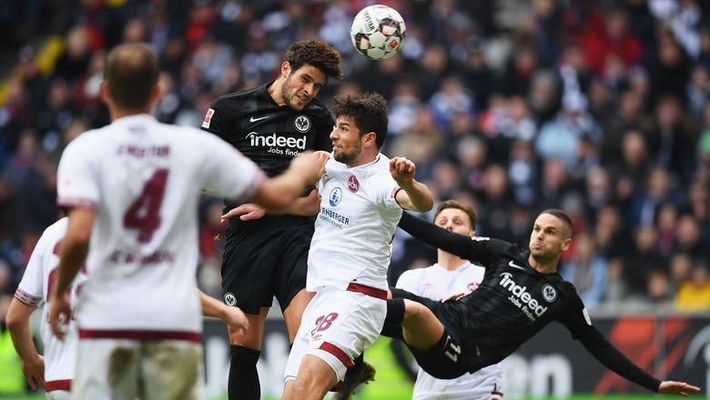 Eintracht Frankfurt vs. 1. FC Nurnberg   2019 Bundesliga Highlights