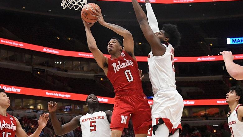 James Palmer drops 34 to help Nebraska eliminate Rutgers from Big Ten tournament