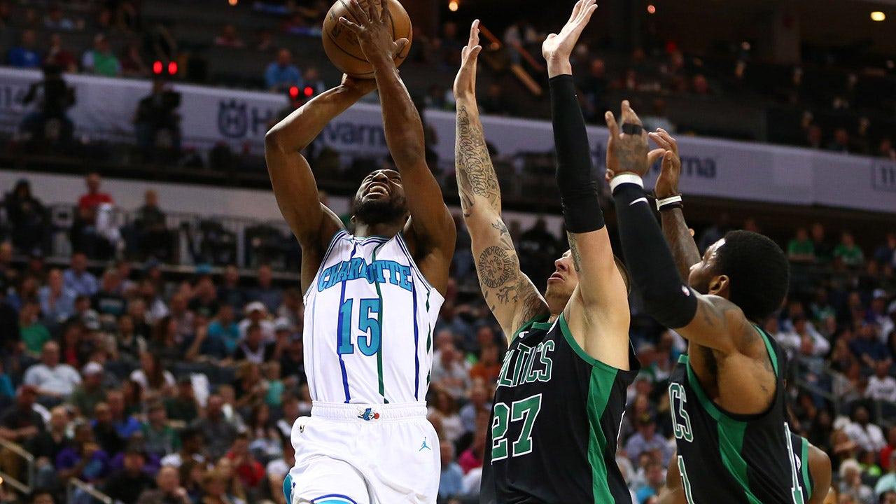 0e4d7d9d970c Hornets LIVE To GO  Kemba Walker fuels comeback win over Celtics ...