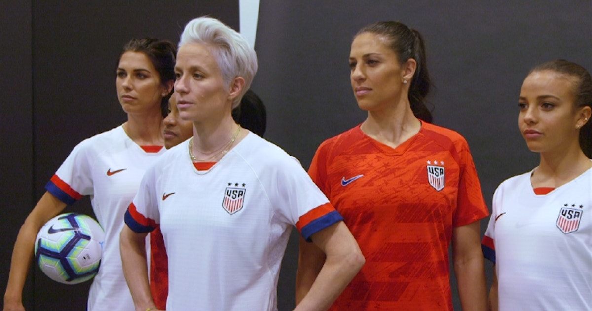 002b84b81 USWNT unveil new kits for 2019 Women s World Cup