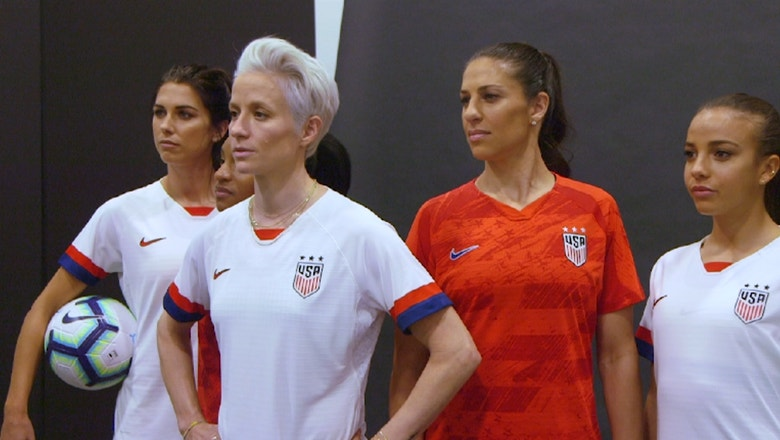 USWNT unveil new kits for 2019 Women's World Cup