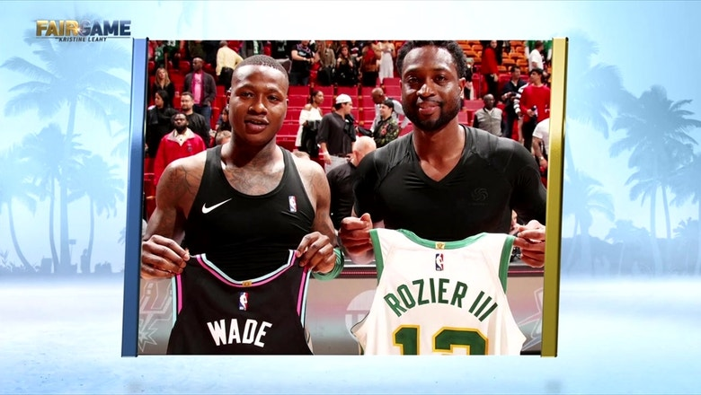 Terry Rozier opens up about playing against his childhood idol, Dwyane Wade: