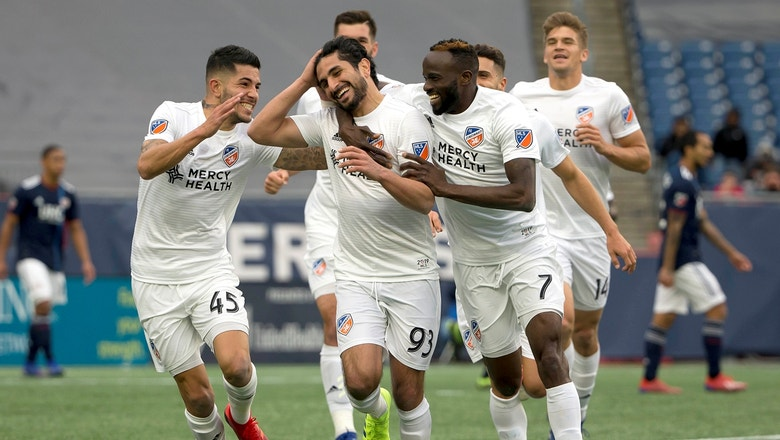New England Revolution vs. FC Cincinnati | 2019 MLS Highlights