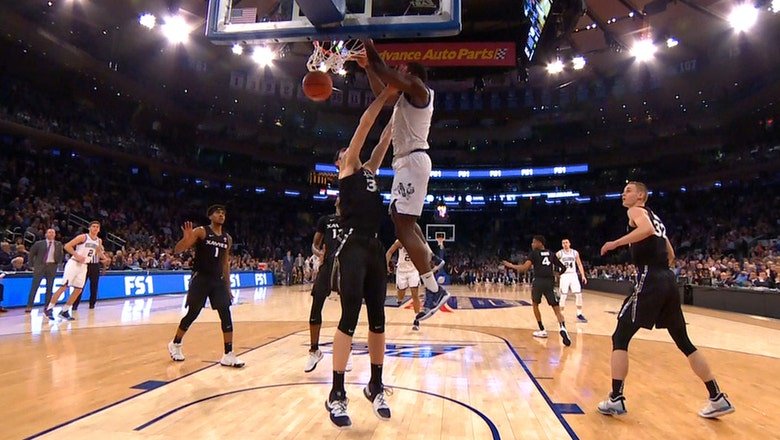 Eric Paschall throws down vicious dunk in No. 25 Villanova's matchup with Xavier