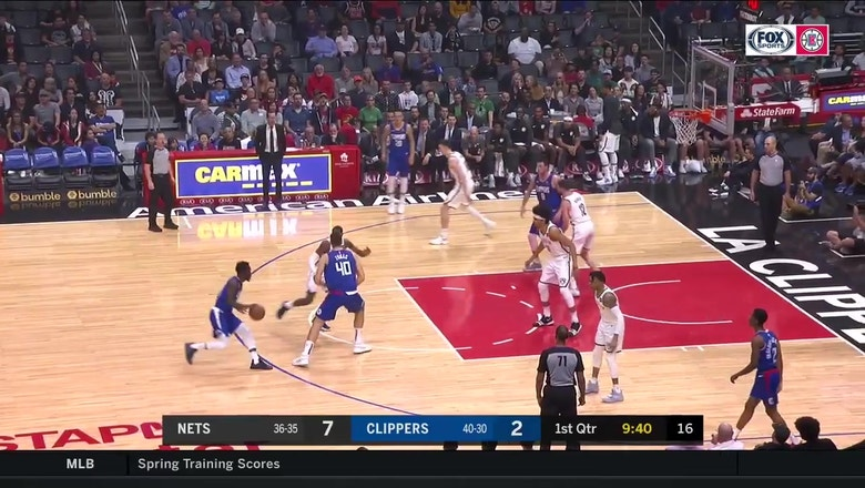 HIGHLIGHTS: Clippers beat Nets at the buzzer on Lou Williams 3!