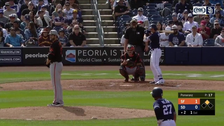 HIGHLIGHTS from the Padres 7-6 spring win over San Francisco