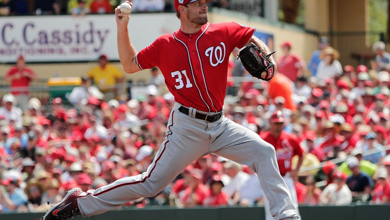 With 9 Ks, Nats ace Max Scherzer looks ready for opening day