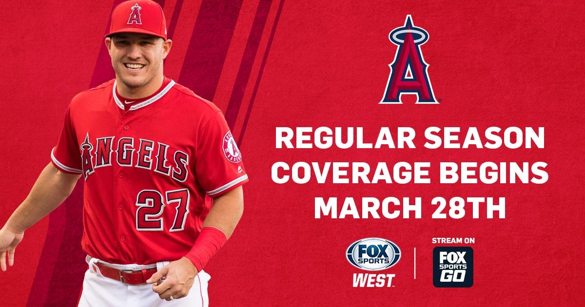 FOX Sports West announces 2019 Angels regular-season broadcast schedule