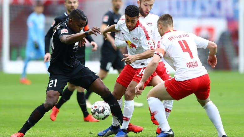 RB Leipzig vs. FC Augsburg  | 2019 Bundesliga Highlights