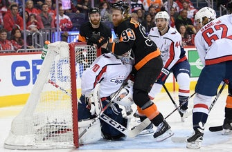Holtby sharp as Capitals beat Flyers to end losing streak