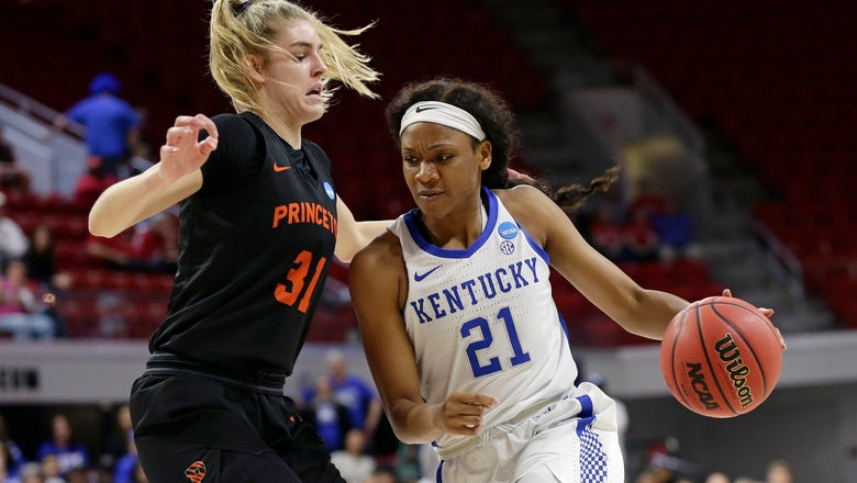 Murray, Kentucky beat Princeton 82-77 in NCAA 1st round