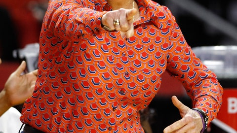 <p>               Tennessee head coach Holly Warlick reacts to an official's call in the second half of a first-round game against UCLA in the NCAA women's college basketball tournament, Saturday, March 23, 2019, in College Park, Md. (AP Photo/Patrick Semansky)             </p>