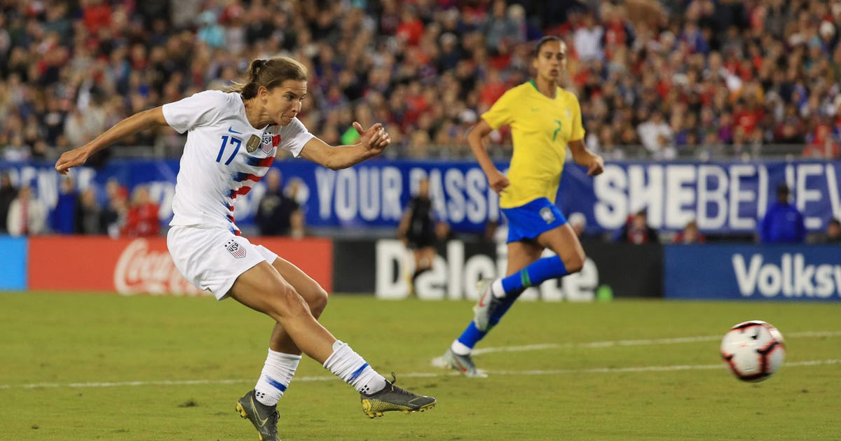 aea793640 Heath puts the USWNT in front vs. Brazil