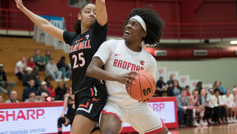 Radford women win 1st Big South tournament since 1996