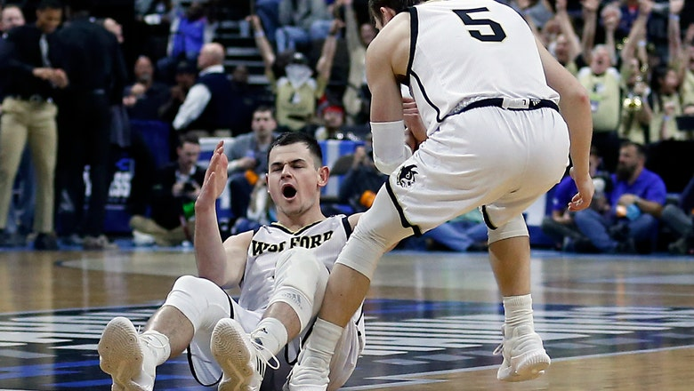 Magee sets record, Wofford tops Seton Hall for 1st NCAA win