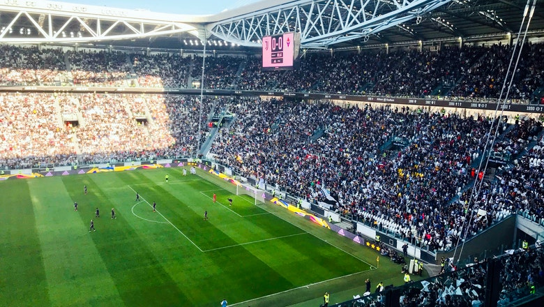 Women's soccer gets another boost with huge crowd in Italy