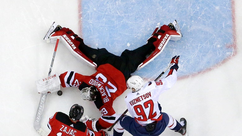Caps regain 1st in the Metro; Canes outlast Pens in shootout
