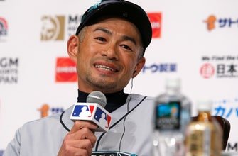 Ichiro in Japan: Still enjoying the big leagues while he can
