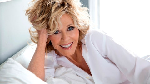 <p>               This undated photo provided by the National Women's Hall of Fame shows actress, author and political activist Jane Fonda, who is among the 10 members of the National Women's Hall of Fame Class of 2019, that was announced Friday, March 8, 2019, in New York City. (Courtesy of National Women's Hall of Fame Class via AP)             </p>