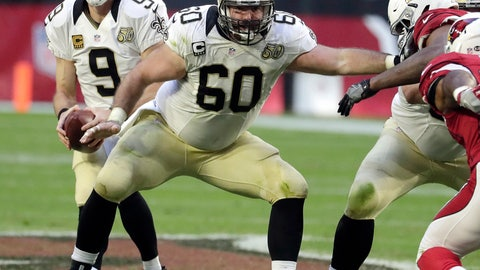 <p>               FILE- In this Dec. 18, 2016, file photo, New Orleans Saints center Max Unger (60) blocks during the first half of an NFL football game against the Arizona Cardinals in Glendale, Ariz. Two people familiar with the decision say Unger, the New Orleans Saints Pro Bowl center, is retiring after 10 NFL seasons. The people spoke to The Associated Press on condition of anonymity on Saturday, March 16, 2019, because the transaction has not been announced.  (AP Photo/Rick Scuteri, File)             </p>
