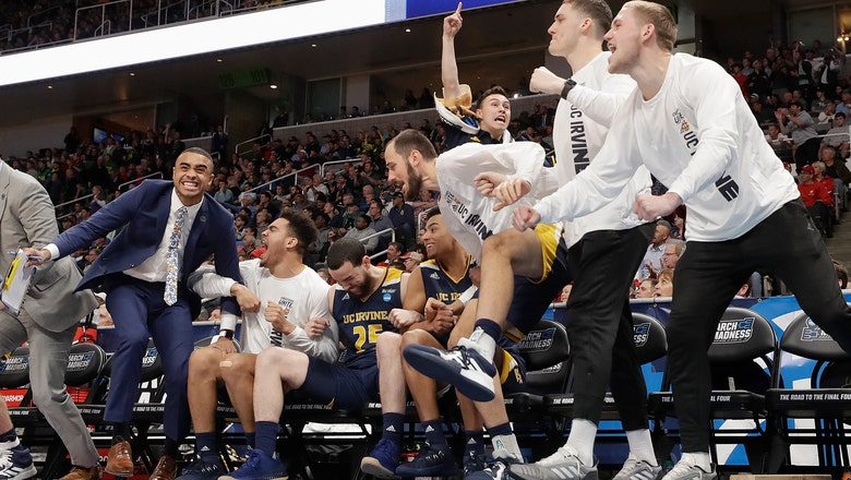 UC Irvine upsets Kansas State for 1st NCAA Tournament win