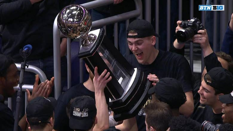 No.11 Purdue wins their 24th Big Ten title in school history