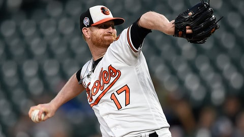 <p>               FILE - In this Sept. 11, 2018, file photo, Baltimore Orioles pitcher Alex Cobb throws against the Oakland Athletics in the first inning of a baseball game, in Baltimore. Cobb, who will start on opening day at Yankee Stadium, went 5-15 with a 4.90 ERA in the first season of a four-year, $57 million contract. (AP Photo/Gail Burton, File)             </p>