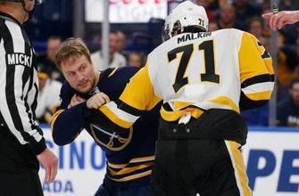 Kessel, Crosby help surging Penguins blank Sabres 5-0