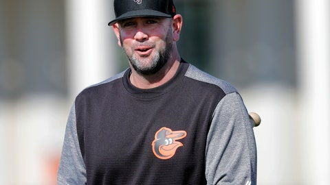 <p>               FILE - In this Feb. 15, 2019, file photo, Baltimore Orioles manager Brandon Hyde walks on the field at their spring training baseball facility in Sarasota, Fla. After staggering through their worst season since coming to Baltimore in 1954, the Orioles will launch a major rebuild in 2019 under rookie manager Hyde and first-year general manager Mike Elias. (AP Photo/Gerald Herbert, File)             </p>