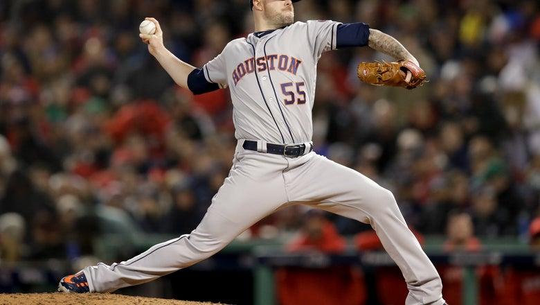 Pressly, Astros reach $20.4M, 3-year deal that adds $17.5M