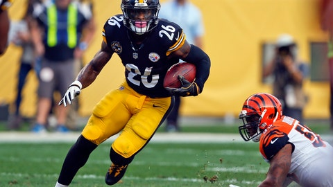 <p>               FILE - In this Oct. 22, 2017, file photo, Pittsburgh Steelers running back Le'Veon Bell (26) carries the ball during an NFL football game against the Cincinnati Bengals in Pittsburgh. A person with direct knowledge of the negotiations says the New York Jets and Bell have agreed to a deal early Wednesday morning, Mach 13, 2019, a person with direct knowledge of the negotiations told The Associated Press. The deal gives new coach Adam Gase and second-year quarterback Sam Darnold a big-time playmaker, arguably the best player at his position before Bell opted to sit out all of last season rather than sign a franchise tender with Pittsburgh. (AP Photo/Keith Srakocic, File)             </p>