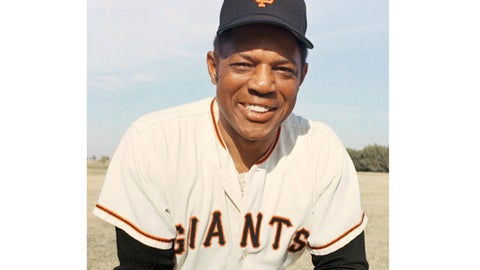 "<p>               Baseball great San Francisco Giants Willie Mays poses in 1967 in an unknown location. Mays, who turns 88 this spring, has some advice to share. ""24: Life Stories and Lessons from the Say Hey Kid"" comes out Sept. 24, St. Martin's Press announced Wednesday. The book, co-authored by John Shea, will feature Mays' memories of the events and people that helped shape him and stories from fellow players who influenced Mays. There will be 24 chapters, in honor of his uniform number. (AP Photo)             </p>"