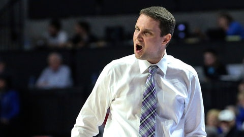 <p>               LSU  coach Will Wade shouts during the first half of the team's NCAA college basketball game against Florida in Gainesville, Fla., Wednesday, March 6, 2019. (AP Photo/Gary McCullough)             </p>