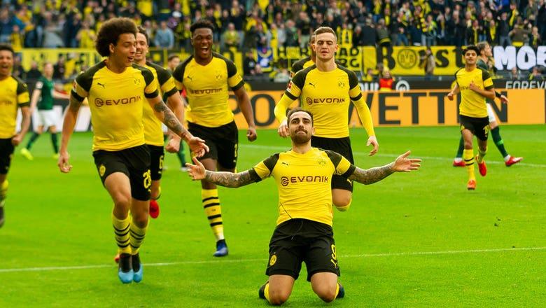 Borussia Dortmund vs. VfL Wolfsburg   2019 Bundesliga Highlights