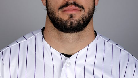 <p>               FILE - In this Feb. 20, 2019, file photo, Colorado Rockies' Mike Tauchman poses for a photo in Scottsdale, Ariz. Tauchman needed to face facts: Getting traded to the New York Yankees meant the outfielder had to get rid of the beard he's worn for years. (AP Photo/Chris Carlson, File)             </p>