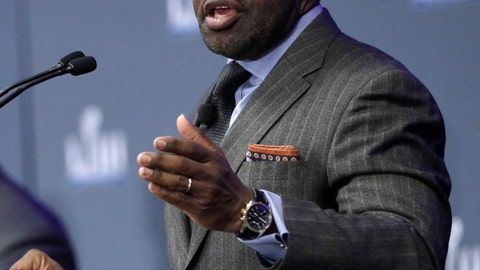 <p>               FILE - In this Jan. 31, 2019, file photo, NFL Players Association Executive Director DeMaurice Smith speaks during a news conference at the media center for the NFL Super Bowl 53 football game, in Atlanta. For the last quarter-century, the league has had a two-tiered system when it came to pensions, paying out significantly bigger amounts to more recent retirees than the players who retired before 1993 and made considerably less money in the pre-free agency days. DeMaurice Smith said improved pensions would be a priority in upcoming labor negotiations.(AP Photo/David J. Phillip, File)             </p>