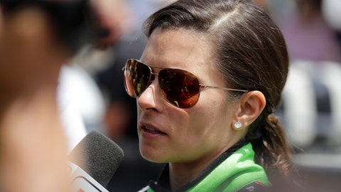 "<p>               FILE - In this May 27, 2018 file photo, Danica Patrick is interviewed following her release from the infield hospital after being checked following a crash in the Indianapolis 500 auto race at Indianapolis Motor Speedway in Indianapolis.  NBC Sports announced Wednesday, March 20, 2019,  that Patrick will be part of its inaugural broadcast of the Indianapolis 500, a project that will return Patrick to the famed Indianapolis Motor Speedway for the first time since she ended her career there last May with the second leg of the ""Danica Double.""  (AP Photo/Darron Cummings)             </p>"