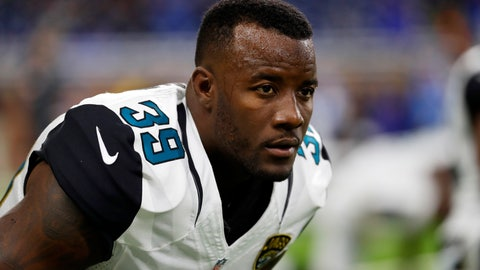 <p>               FILE- In this Nov. 20, 2016, file photo, Jacksonville Jaguars free safety Tashaun Gipson stretches before an NFL football game against the Detroit Lions in Detroit. The Jaguars have released defensive tackle Malik Jackson, safety Tashaun Gipson, offensive lineman Jermey Parnell, running back Carlos Hyde and long-snapper Carson Tinker, creating $30 million in salary cap space for 2019, the team announced Friday, March 8, 2019.  (AP Photo/Paul Sancya, File)             </p>