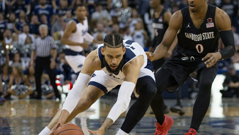 Martin twins lead No. 17 Nevada over SDSU 83-51