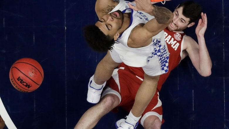 No. 4 Kentucky easily beats Alabama 73-55 at SEC Tournament