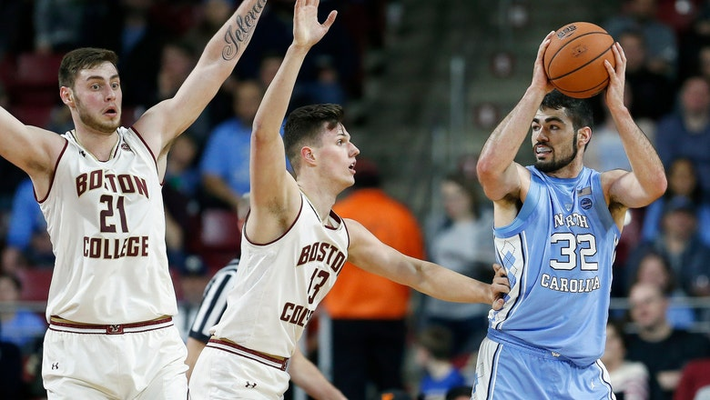 No. 3 North Carolina beats Boston College 79-66