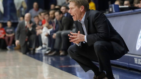 <p>               Gonzaga coach Mark Few watches during the first half of the team's NCAA college basketball game against Saint Mary's in Moraga, Calif., Saturday, March 2, 2019. (AP Photo/Jeff Chiu)             </p>