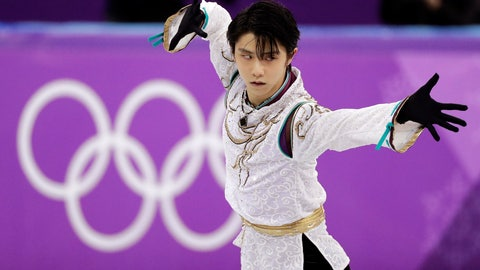 <p>               FILE - In this Feb. 17, 2018, file photo, Yuzuru Hanyu of Japan performs during the men's free figure skating final in the Gangneung Ice Arena at the 2018 Winter Olympics in Gangneung, South Korea. Hanyu is recovering from a right ankle injury that forced him to skip the Dec. 21-24 Japan nationals. (AP Photo/David J. Phillip, File)             </p>