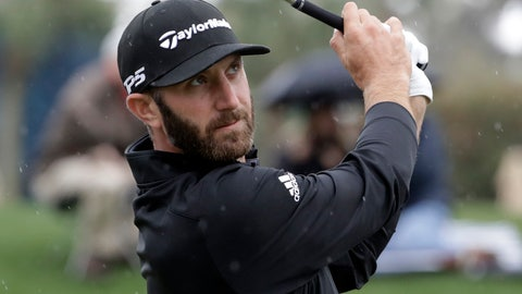 <p>               Dustin Johnson plays his shot from the third tee during the final round of The Players Championship golf tournament Sunday, March 17, 2019, in Ponte Vedra Beach, Fla. (AP Photo/Lynne Sladky)             </p>