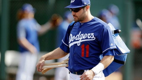 <p>               FILE - In this Feb. 24, 2019, file photo, Los Angeles Dodgers' A.J. Pollock walks to the field for a spring training baseball game against the Los Angeles Angels in Glendale, Ariz. Pollock signed a $55 million, four-year deal to leave division rival Arizona. He gives the Dodgers a right-handed bat to complement their deep lineup. (AP Photo/Darron Cummings, File)             </p>