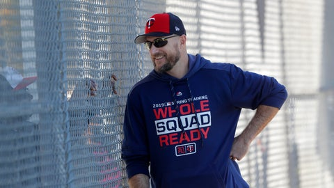 <p>               FILE - In this Thursday, Feb. 14, 2019, file photo, Minnesota Twins manager Rocco Baldelli talks through a fence as pitchers and catchers report for their first workout at their spring training baseball facility in Ft. Myers, Fla. The Twins are starting fresh with the youngest manager in the major leagues, a remade infield and a new closer. Starting fresh doesn't have to mean starting over, though, and the Twins have designs on contending for the division title. (AP Photo/Gerald Herbert, File)             </p>
